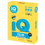 Бумага IQ color, А3, 80 г/м2, 500 л., интенсив канареечно-желтая, CY39